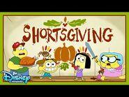 Shortsgiving 🦃 - Compilation - Big City Greens - Disney Channel