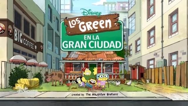 Los Green En La Gran Ciudad
