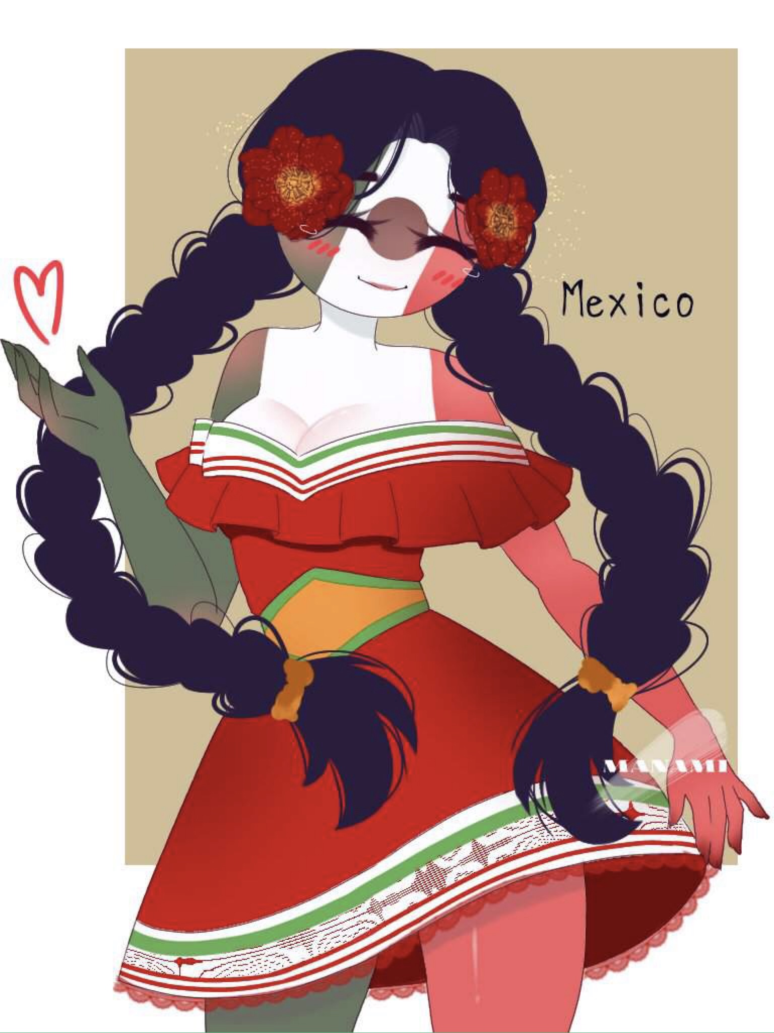 Mexico Countryhumans Wiki Fandom