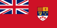 Flag of Canada 1957-1965