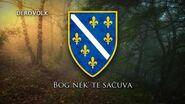 """National Anthem of Bosnia and Herzegovina (1992-1998) - """"Jedna si Jedina"""""""