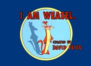 I Am Weasel Title