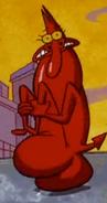 Red buttwalk 2
