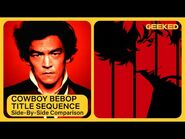 Cowboy Bebop Opening Credits - Anime Side-by-Side Comparison - Netflix Geeked
