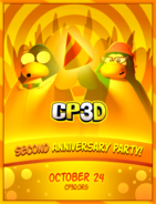 2nd Anniversary Party Poster