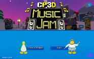 Music Jam 2021 Login Screen