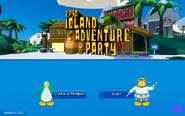 Adventure Party 2021 Login Screen