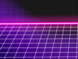 80's Synthwave Background