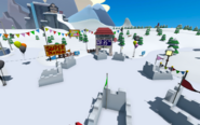 Puffle Party 2021 Snow Forts