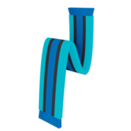 BlueStripedScarfIcon
