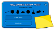 Halloween Candy Hunt 2020 Uncompleted