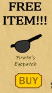 Eyepatch rare items