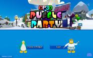 Puffle Party 2021 Login Screen