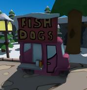 Easter-egg welcome-room-fishdog-car