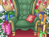 Santa Seat Background
