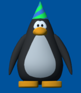 1st year party hat player card