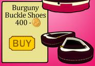 Burgundybuckleshoespenguinstyle