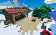 Island Adventure Party 2021 Dock