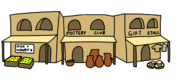 Egyptian Party Town Concept