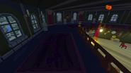Haunted house upper floor