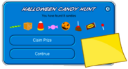 Halloween Candy Hunt 2020 Completed