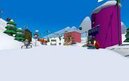 Puffle Party 2021 Ski Village