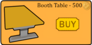 Booth table better igloos