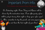 Prom Message