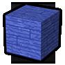 Blue Wooden Plank