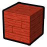 Red Wooden Plank