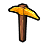 Gold Pickaxe