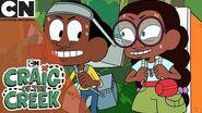 Craig of the Creek Crossing the Riddle Bridge Cartoon Network UK 🇬🇧