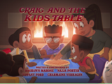 Craig and the Kids Table