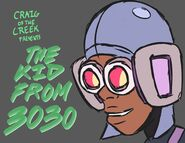 Promo art for The Kid from 3030