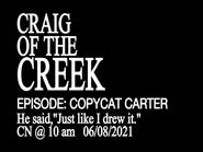 Promo art for Copycat Carter
