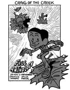 Fall Anthology promo art Dashawn Mahone