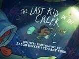 El último niño en el arroyo