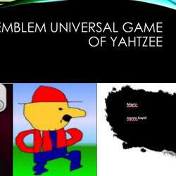Flying Emblem: Universal Game of Yahtzee