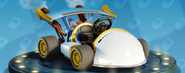 Nitro-Fueled Bandicoot - Aérographe