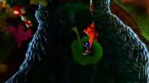 Crash Bandicoot Up The Creek