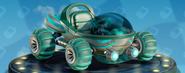 Nitro-Fueled Doom Buggy - Rayures courbées