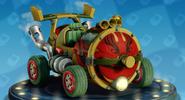 Nitro-Fueled Compresseur - Clown néon