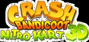 Crash bandicoot nitro kart 3d logo.png