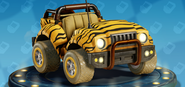 Nitro-Fueled Crikey - Rayures de tigre