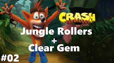 Junglle rollers Crash Bandicoot N