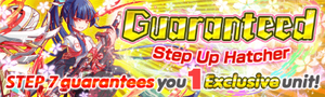 Limited Edition Guaranteed Step Up Hatcher Banner