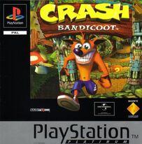 Crash Bandicoot Platinum Cubierta
