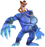 Crash Bandicoot Mind over Mutant Ratcicle