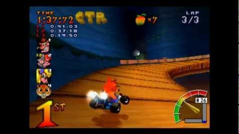 Dragon Mines - CTR Challenge - Crash Team Racing - 101% Playthrough (Part 34)