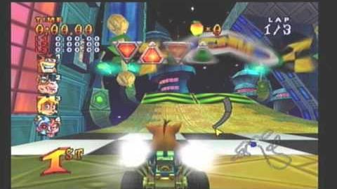 Let's Play Crash Nitro Kart (100%) - Gem Cups